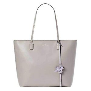 Kate Spade Karla Dangle Tote Soft Taupe Purse NEW